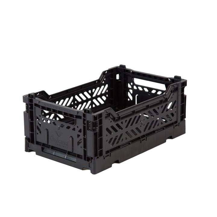 Faltkiste Mini 27 x 17 cm von Aykasa in black