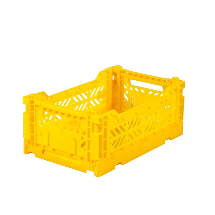 Faltkiste Mini 27 x 17 cm von Aykasa in yellow