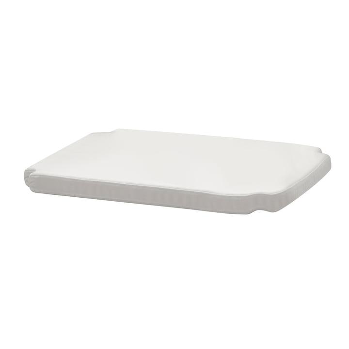 Sitzauflage für Drachmann Stuhl von Skagerak in der Farbe weiß