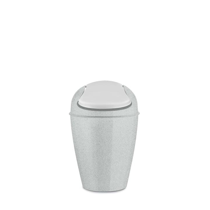 DEL S Schwingdeckeleimer 5 l von Koziol in organic grey