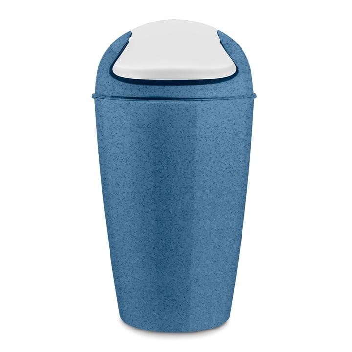 DEL XL Schwingdeckeleimer 30 l von Koziol in organic deep blue