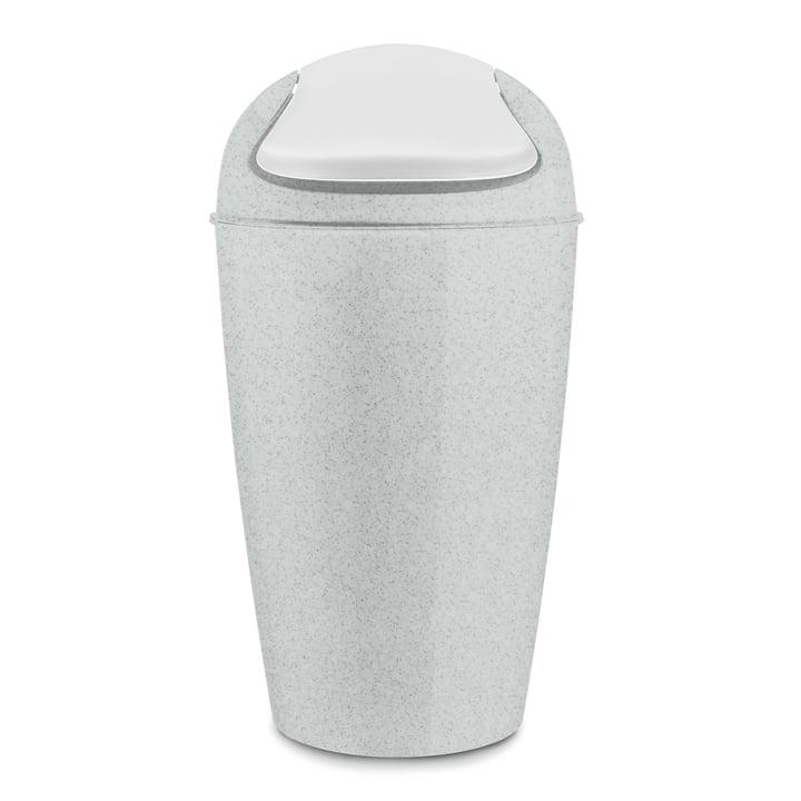 DEL XL Schwingdeckeleimer 30 l von Koziol in organic grey
