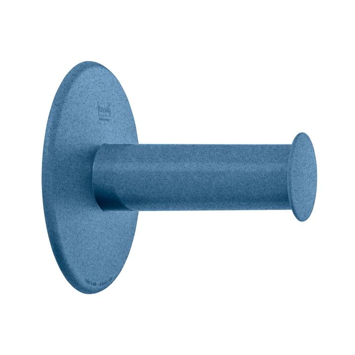 Plug'n Roll Toilettenpapierhalter von Koziol in organic deep blue
