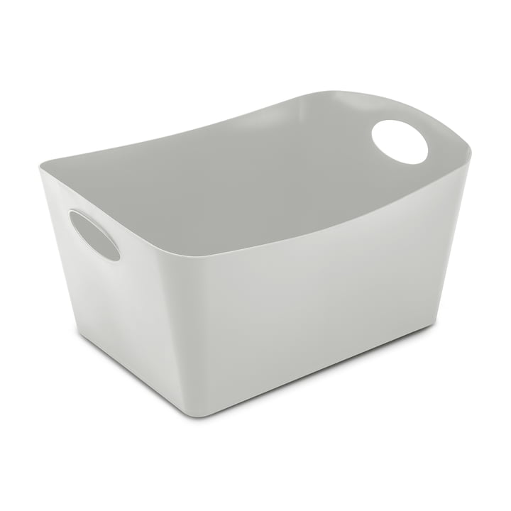 Boxxx L Aufbewahrungsbox von Koziol in soft grey
