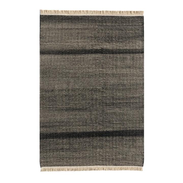 Tres Stripes Outdoor-Teppich 200 x 300 cm von nanimarquina in schwarz
