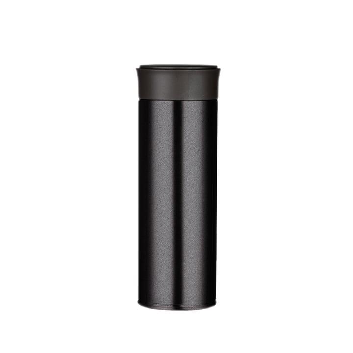 Visibility Trinkflasche 0,35 l von Magisso in schwarz
