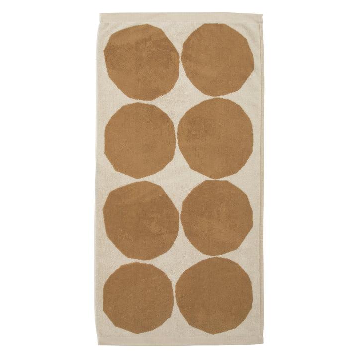 Kivet Handtuch 50 x 70 cm von Marimekko in baumwollweiß / beige