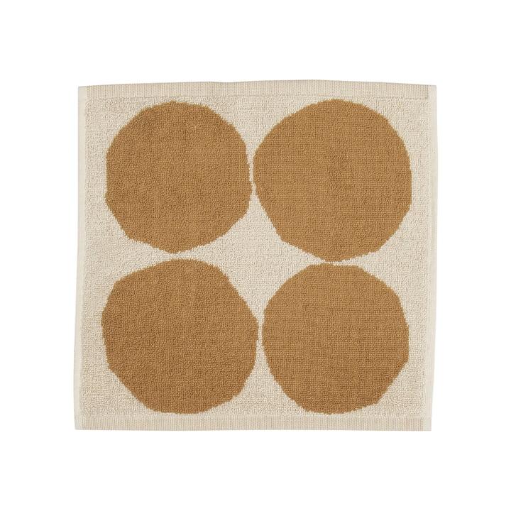 Kivet Mini-Handtuch 30 x 30 cm von Marimekko in baumwollweiß / beige