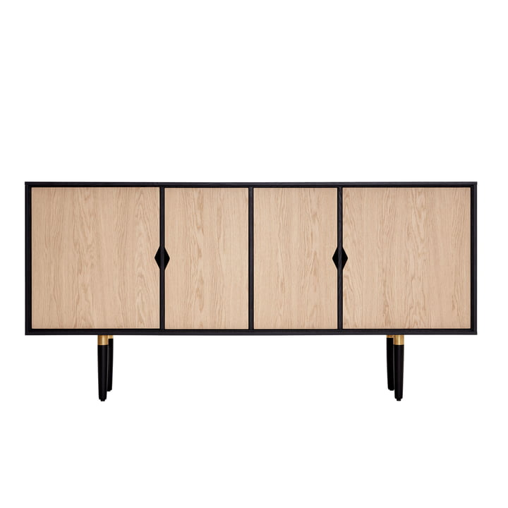 Unique´s Sideboard 163 x 43 x 80 cm von Andersen Furniture in Eiche / schwarz