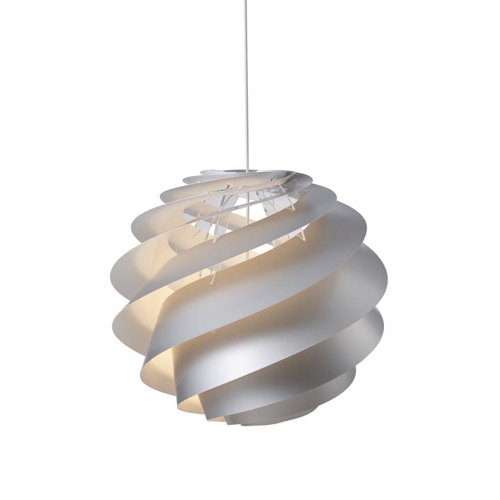 Swirl 3 Pendelleuchte Ø 65 cm von Le Klint in weiß