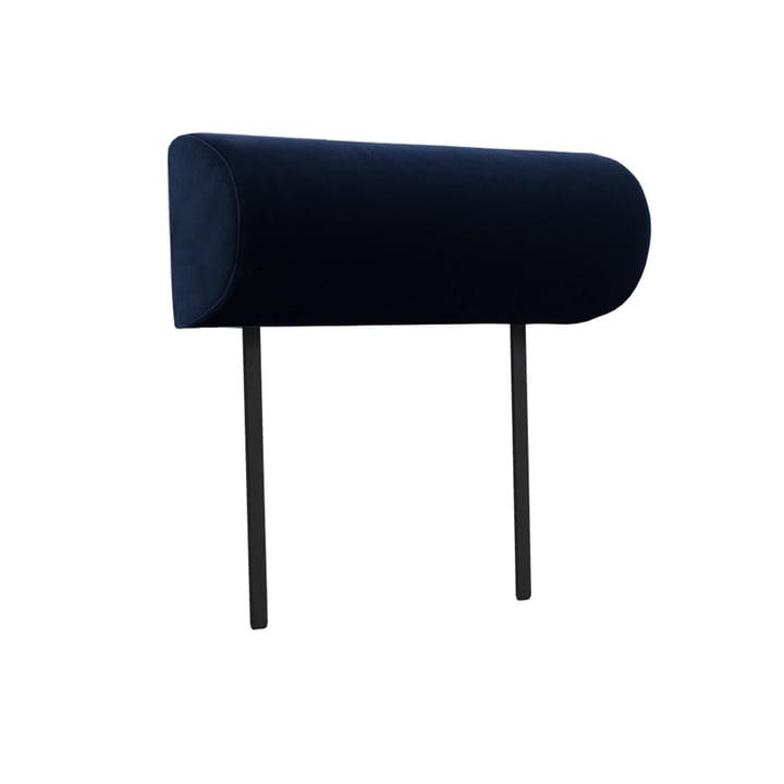 Armlehne für Weber Modulsofa von Objekte unserer Tage in dunkelblau (City Velvet CA7832/052)
