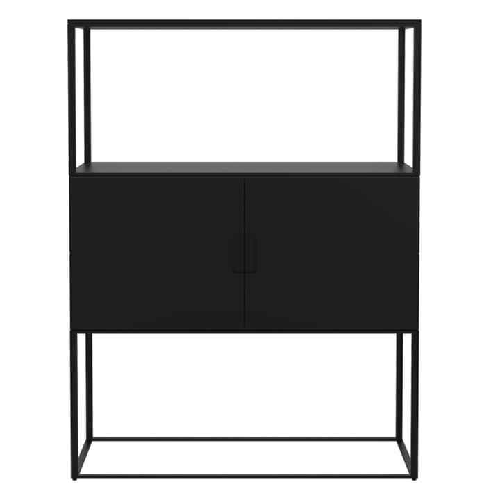 Fischer Regalsystem, Design No. 3 von Objekte unserer Tage in schwarz