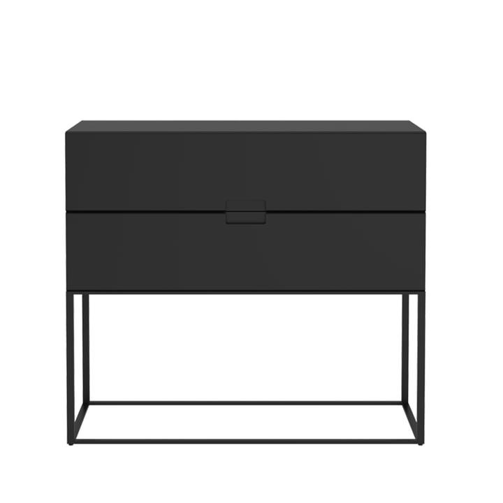 Fischer Regalsystem, Design No. 2 von Objekte unserer Tage in schwarz