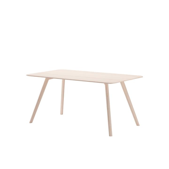 Meyer Tisch Medium 160 x 92 cm von Objekte unserer Tage in Esche gewachst