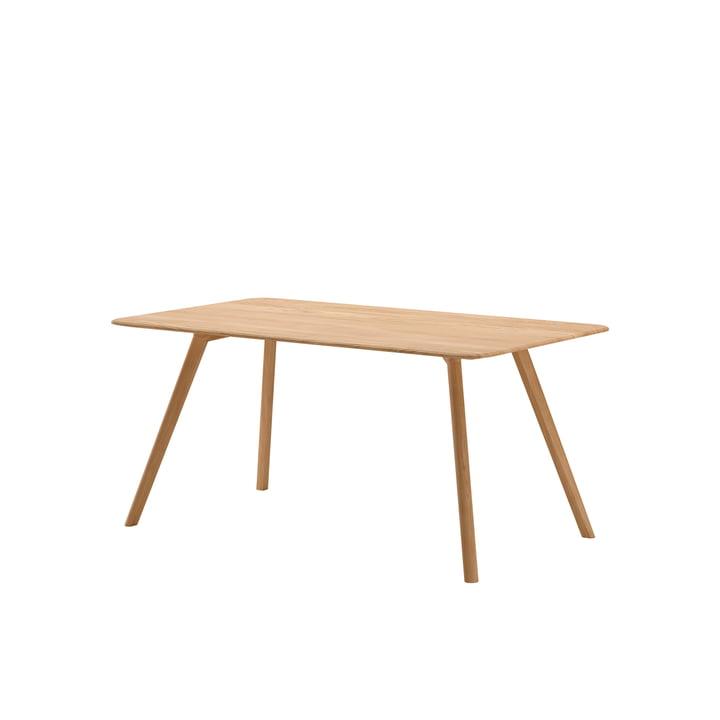 Meyer Tisch Medium 160 x 92 cm von Objekte unserer Tage in Eiche gewachst