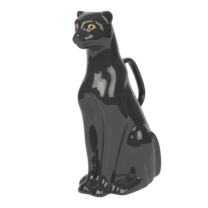 Urban Jungle Panther Gießkanne, schwarz von Doiy