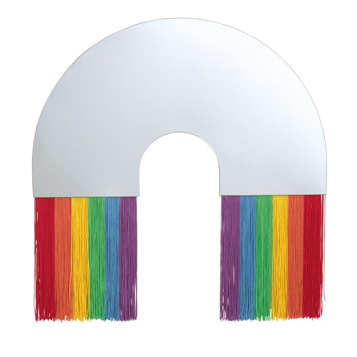 Rainbow Wandspiegel L von Doiy