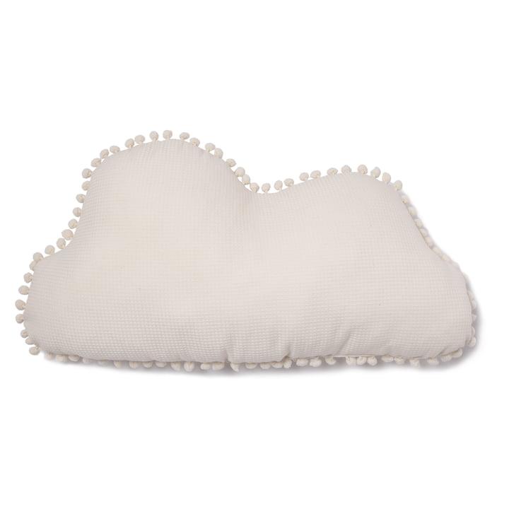 Cloud Marshmallow Kissen, 30 x 58 cm, natur von Nobodinoz