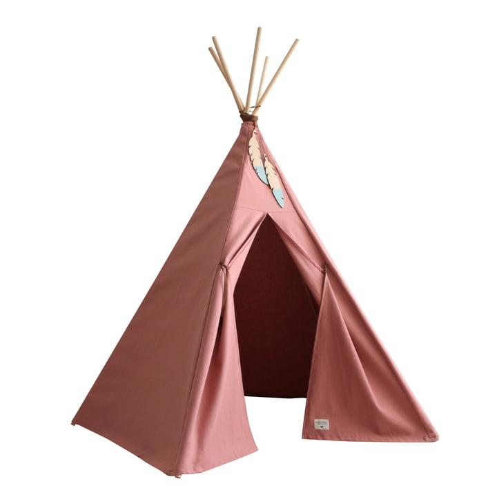 Nevada Tipi-Zelt, dolce vita pink von Nobodinoz