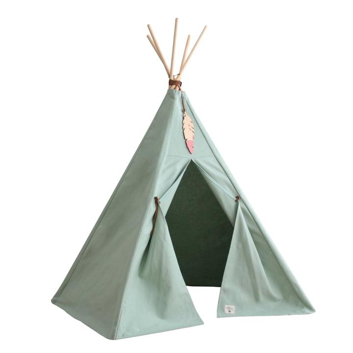 Nevada Tipi-Zelt, provence green von Nobodinoz