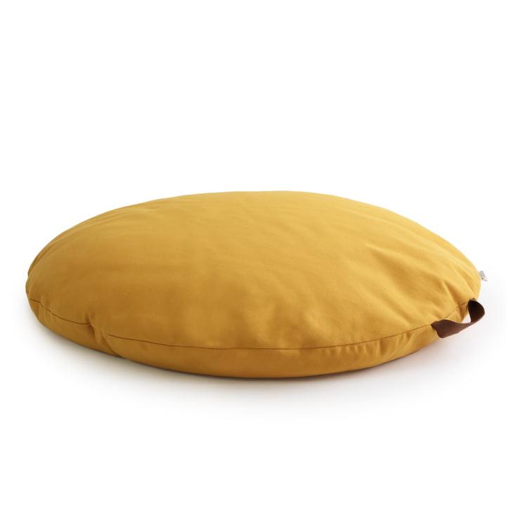 Sahara Bodenkissen Ø 90 cm, farniente yellow von Nobodinoz