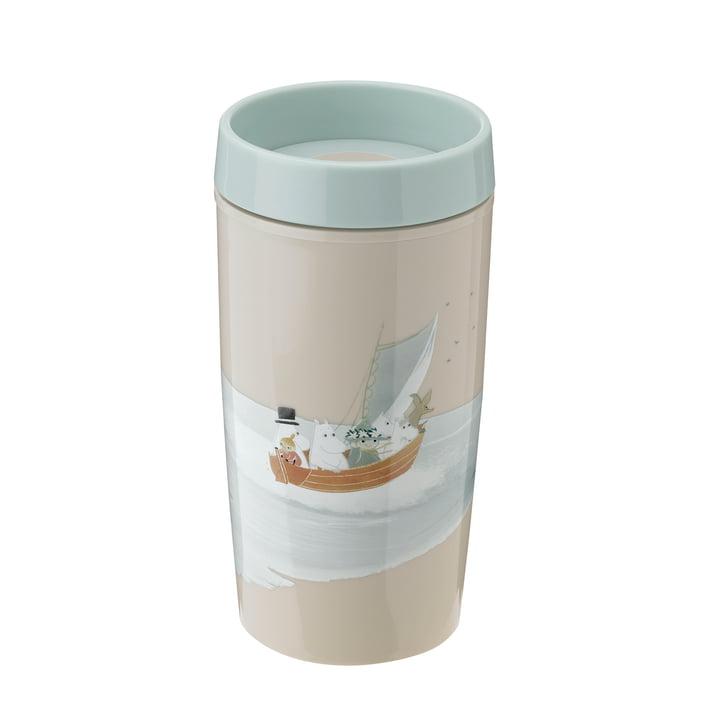 Bring-It Moomin To-Go Becher 0.34 l von Rig-Tig by Stelton in dusty green