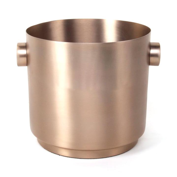 Rondo Weinkübel, Stahl kupfer von XLBoom