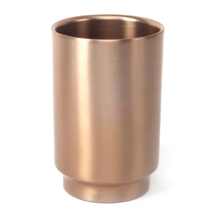 Rondo Weinkühler, Stahl kupfer von XLBoom