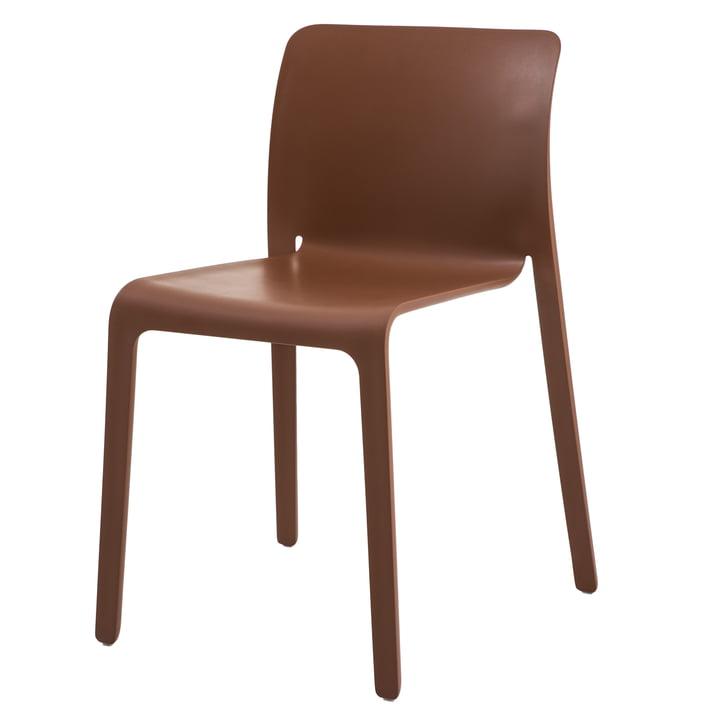 Chair First von Magis in terrakotta