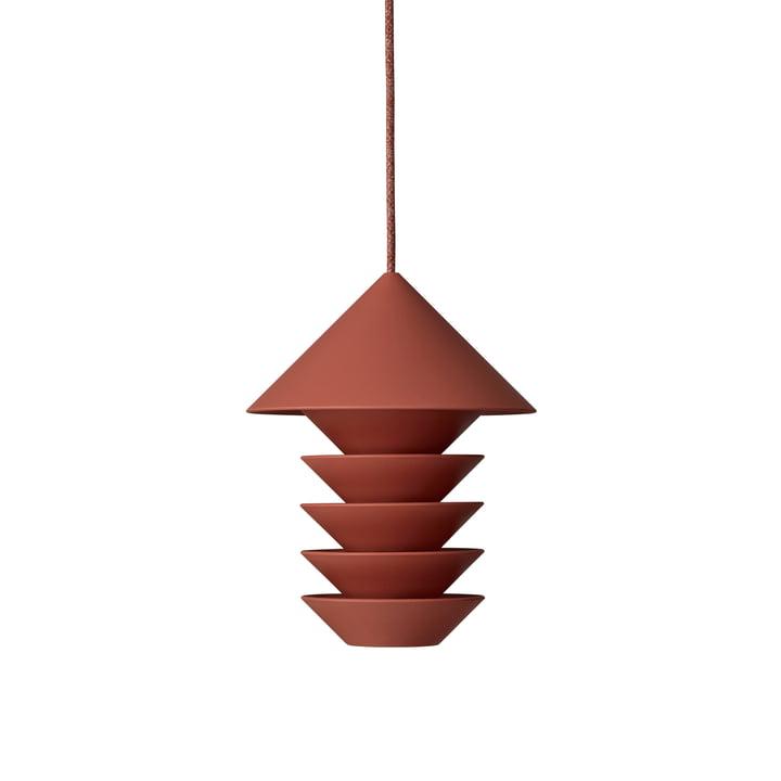 Bird Silo Vogelfutterstation H 23 cm von Pidät in terrakotta