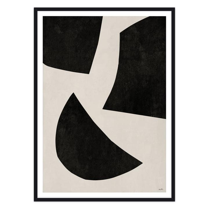 artvoll - UNIT No 1 black, Rahmen schwarz