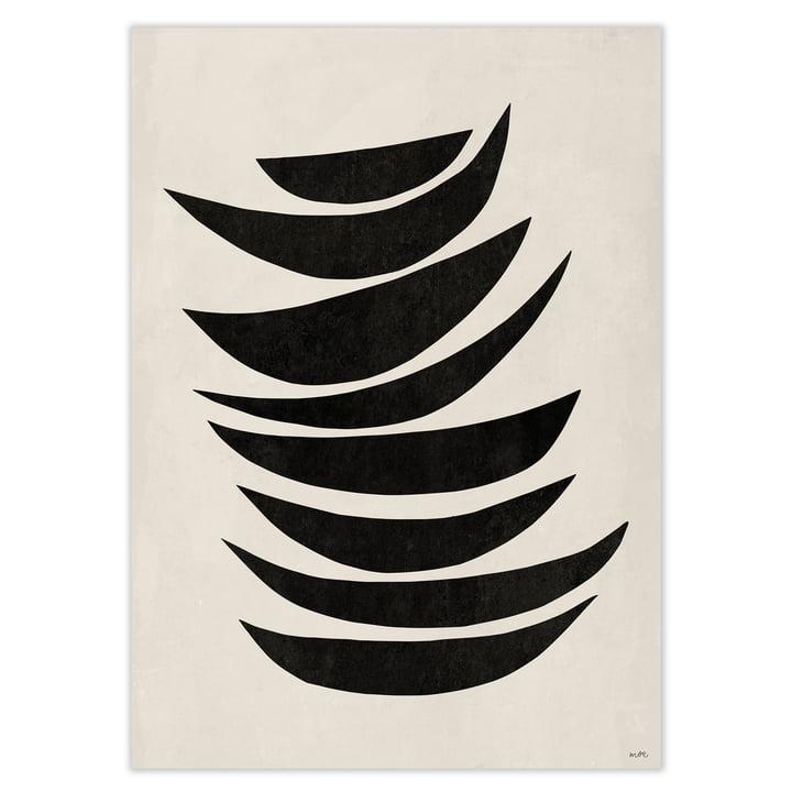 artvoll - PROCESSION No 1 black