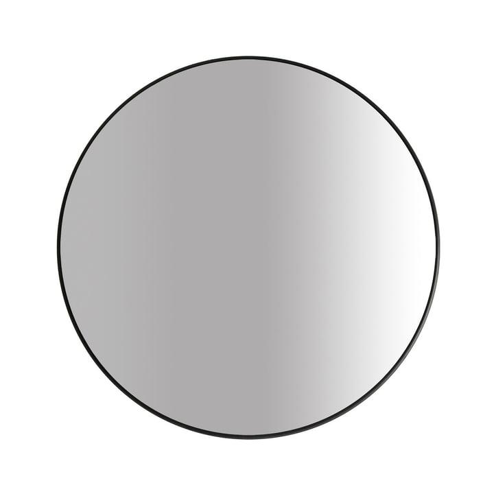 Der Big Spiegel Ø 80 cm, schwarz von yunic