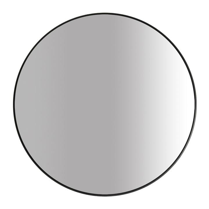Der Big Spiegel Ø 100 cm, schwarz von yunic