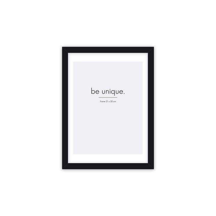 Floating Bilderrahmen 21 x 30 cm, schwarz von Connox Collection
