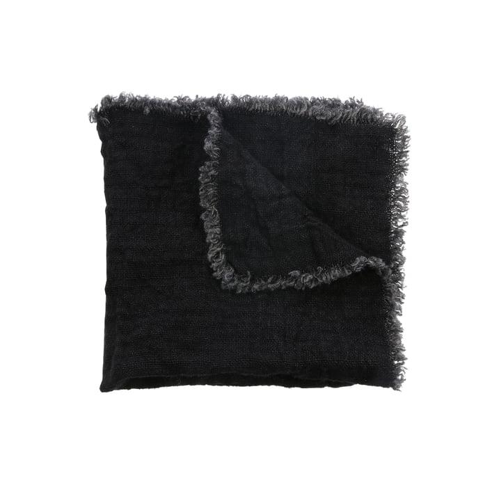 Leinen Servietten 45 x 45 cm (2er-Set) von HKliving in charcoal