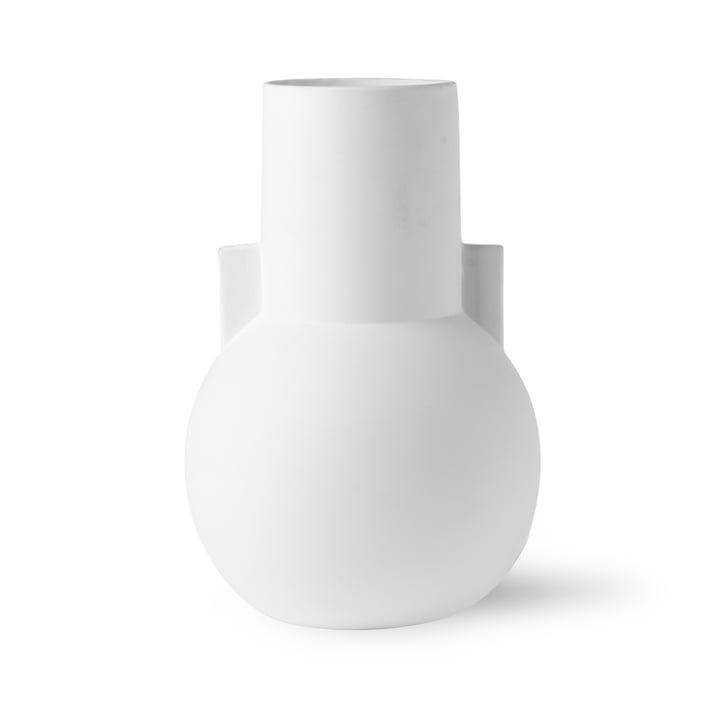 Vase S, Ø 17,5 x H 26 cm, matt weiß von HKliving