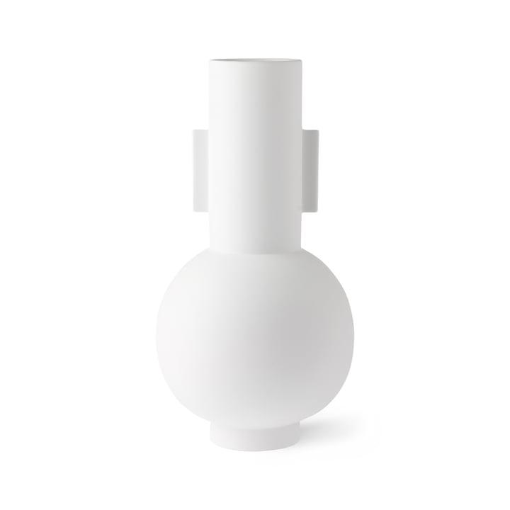 Vase L, Ø 21 x H 42,5 cm, matt weiß von HKliving