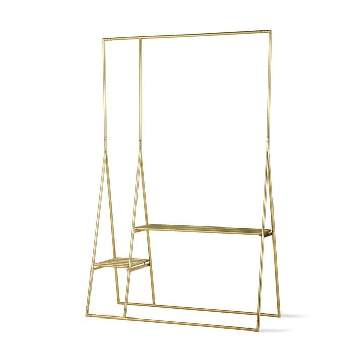 HKliving - Brass Kleiderständer, Messing