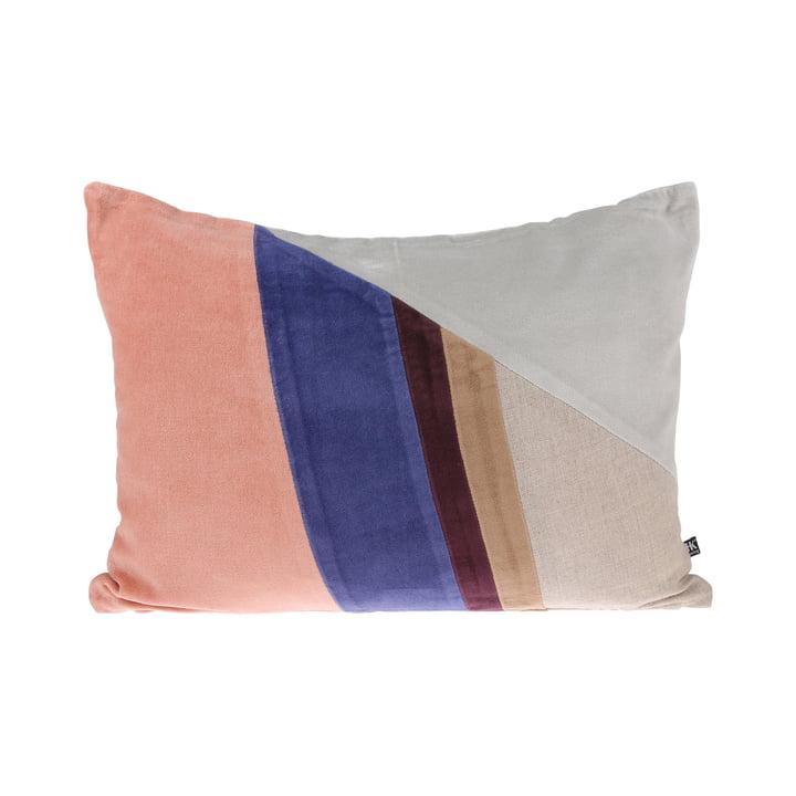 Velvet Patch Kissen B 35 x 50 cm von HKliving in mehrfarbig