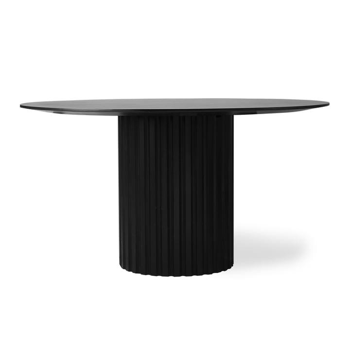 Pillar Esstisch rund, Ø 140 cm, schwarz von HKliving