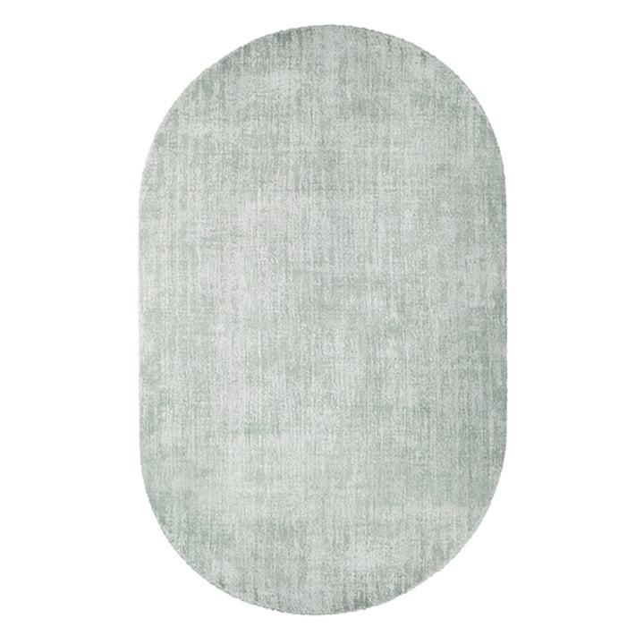 Teppich oval 150 x 240 cm von HKliving in mintgrün