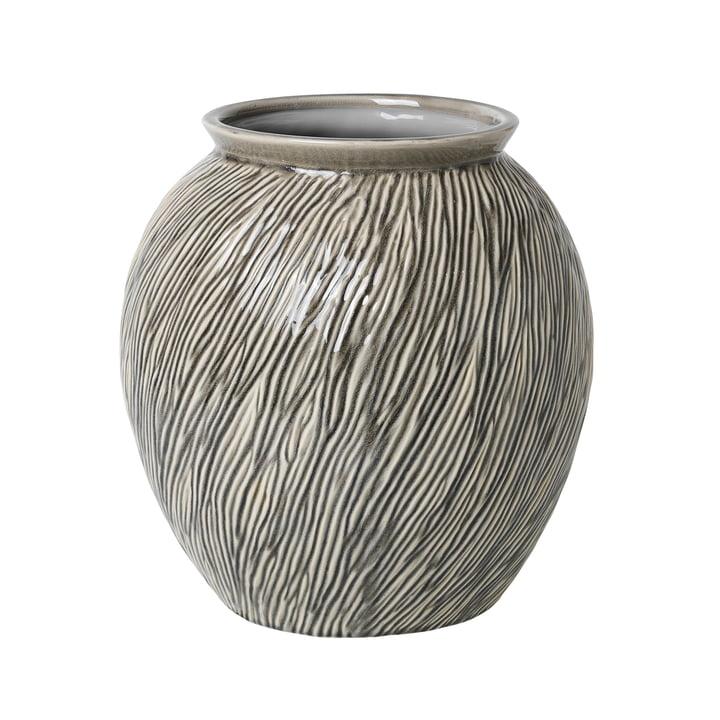 Sandy Vase M, Ø 30 x H 31 cm, smoked pearl von Broste Copenhagen