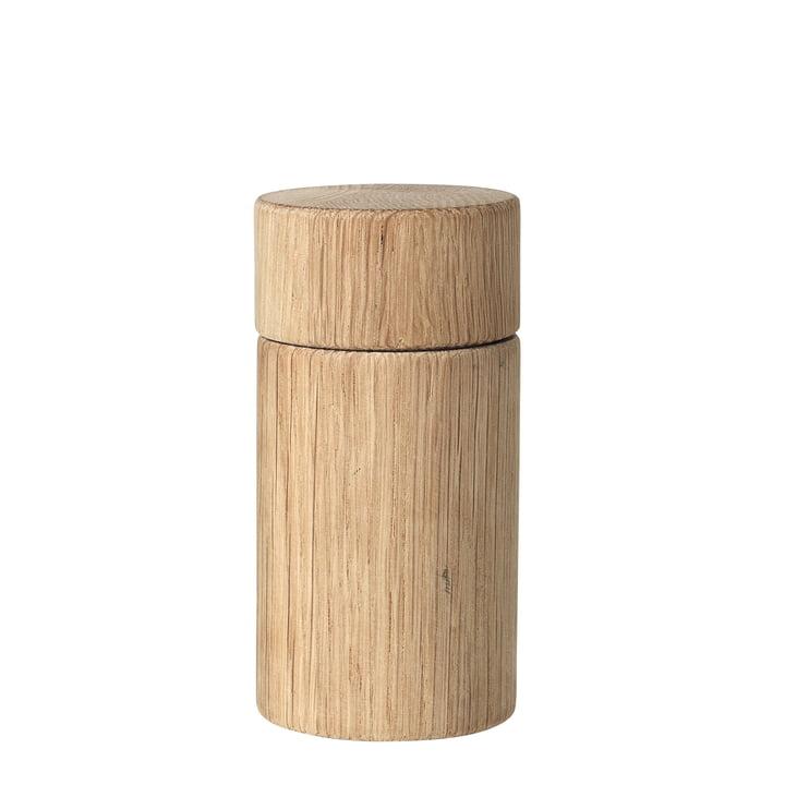 Oak Salz- und Pfeffermühle H 13 cm, Eiche von Broste Copenhagen