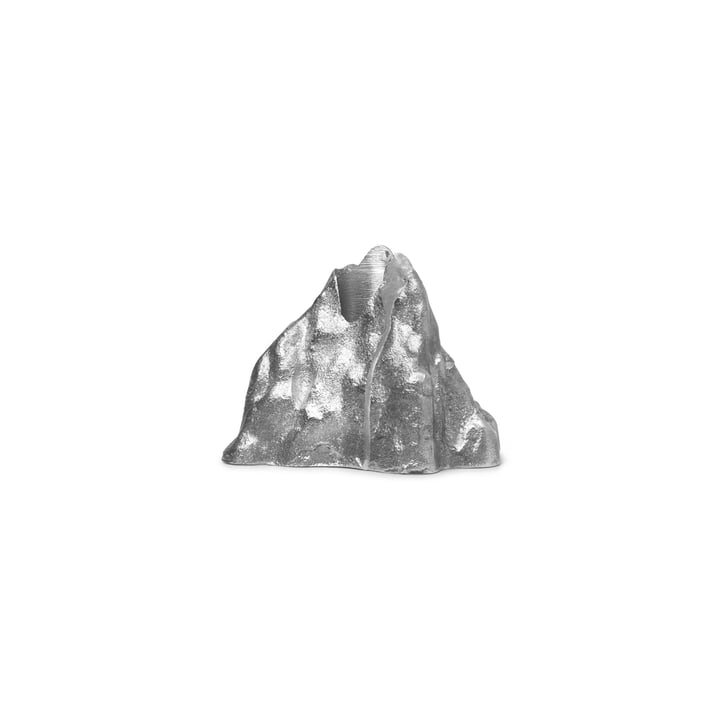 Stone Kerzenhalter large, Aluminium von ferm Living