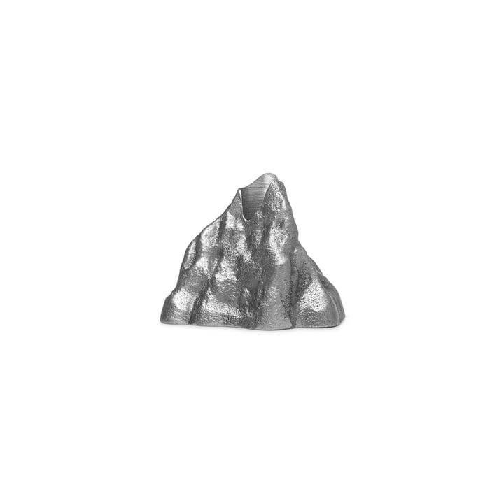 Stone Kerzenhalter small, Aluminium von ferm Living
