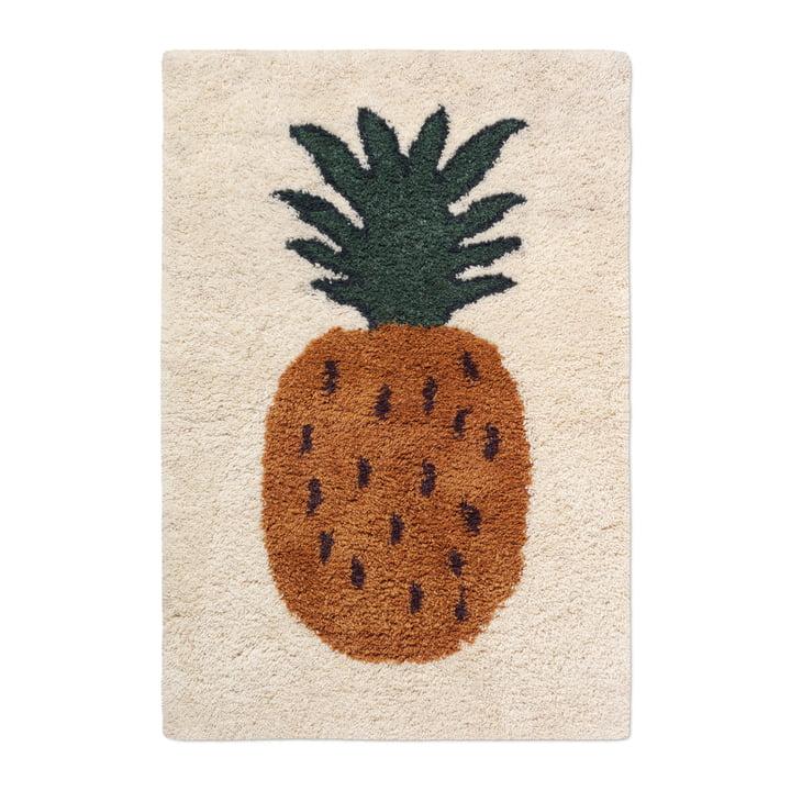"Fruiticana Teppich ""Ananas"", L, von ferm Living"