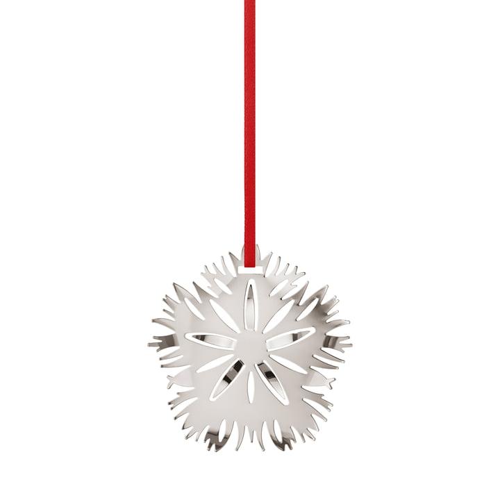 Holiday Ornament 2020 Ice Dianthus, palladium von Georg Jensen.