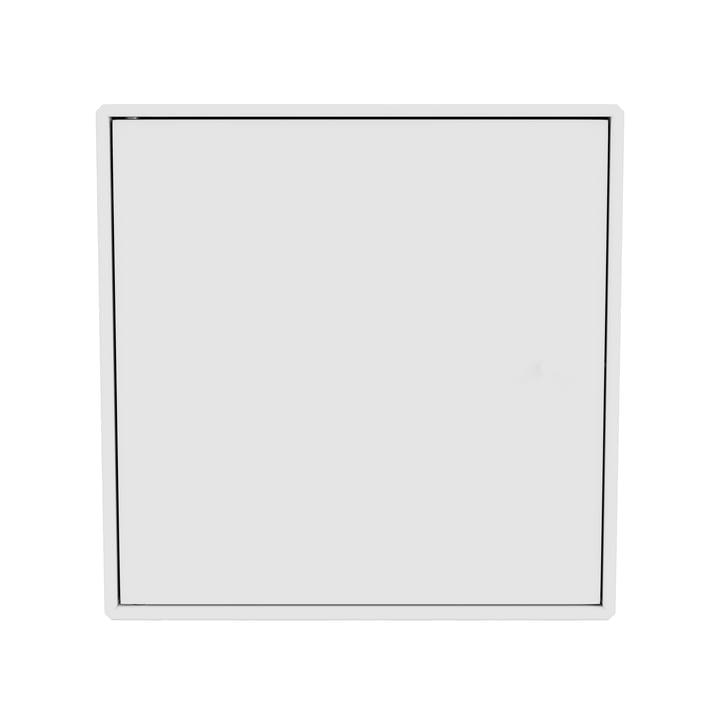Mini Regalmodul mit Tür, new white von Montana.
