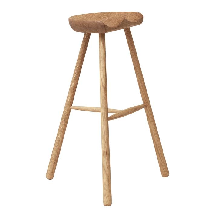 Shoemaker Chair, Nr. 78, Eiche weiß pigmentiert von Form & Refine